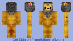 I tried recolouring a simba skin and making it look like scar but hah that didnt work Minecraft Skin