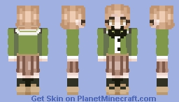 haha dumbells Minecraft Skin