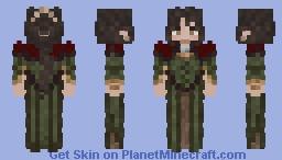Alaine Red Rose Minecraft Skin