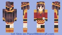 Megunut...I mean Megumin- [KonoSuba] Minecraft Skin