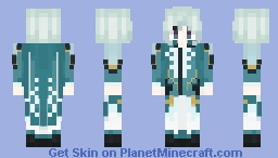 Mikleo || Tales of Zestiria Minecraft Skin