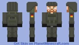German Soldier (Landing in Norway)   201 Infantry Division   WW3 Minecraft Skin
