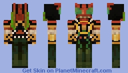 Kamen Rider Zi-O Another OOO Minecraft Skin