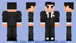 Bruce Wayne Minecraft Skin