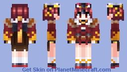 Beni-enma [Fate/Grand Order] Minecraft Skin