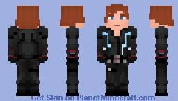 Black Widow - Natasha Romanoff (AoU) Minecraft Skin
