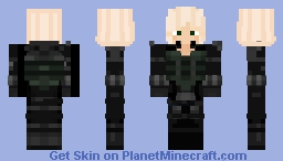 Black Widow (Natasha Romanoff) Minecraft Skin
