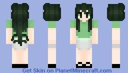 Tsuyu Asui // Mha Minecraft Skin