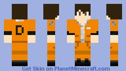 D-Class from SCP-Containment Breach Minecraft Skin