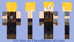 Cloud Strife Minecraft Skin