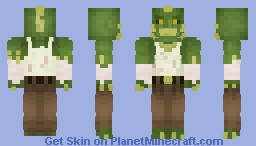 Killer Croc (Arkham, Better in 3D) Minecraft Skin