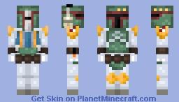 𝕭𝖔𝖇𝖆 𝕱𝖊𝖙𝖙 - Star Wars Minecraft Skin
