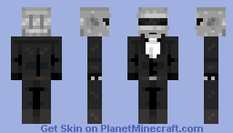 Daft Punk - Thomas Bangalter Minecraft Skin