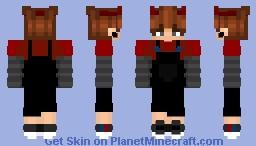 Edgy Demon w/ overalls [ialreadyleft] Minecraft Skin