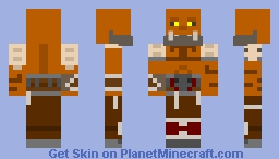 Garrosh Hellscream Minecraft Skin