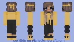 ♀ | 𝙜𝙤𝙡𝙙𝙚𝙣 | Malia Minecraft Skin