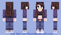 ||Lu||Lilies Minecraft Skin