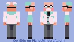 EarthBound - Dr. Andonuts Minecraft Skin
