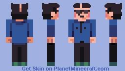 EarthBound - Lier X. Agerate Minecraft Skin