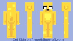 Jake the Dog Minecraft Skin