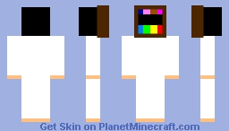 tv spandex suit Minecraft Skin