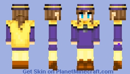 Hat Kid (FINAL FINISHED SKIN) Minecraft Skin
