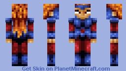 jean grey Minecraft Skin