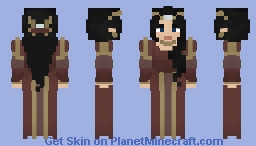[LOTC] Burgundy Elegance [Free use] Minecraft Skin