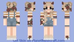 ♀ | 𝕤𝕡𝕣𝕚𝕟𝕘 | Malia Minecraft Skin