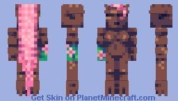 big ol tree golem [pop reel] Minecraft Skin
