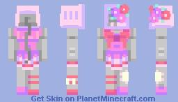 charlotte the robot Minecraft Skin