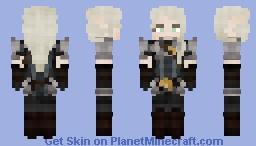 Snow Elf in High Elf Hubby Armour [LoTC] Minecraft Skin