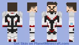 Tony Stark (Quantum Realm Suit) - Avengers: Endgame Minecraft Skin