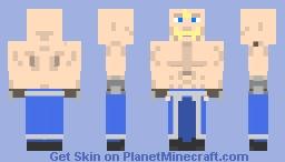 Alex Louis Armstrong Minecraft Skin