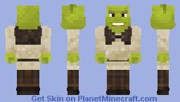 Shrek, god of the swamp Minecraft Skin