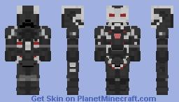 War Machine (MK 004) - Avengers: Endgame Minecraft Skin