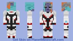 Nebula (Quantum Realm Suit) - Avengers: Endgame Minecraft Skin