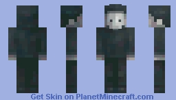 masked guy from inside Minecraft Skin