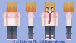 Might be making skins again, but for now have kusakabe from doukyuusei! : ) Minecraft Skin