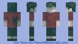 guy from inside Minecraft Skin