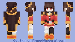 Yummy' - Megumin (from Konosuba) @_@ Minecraft Skin