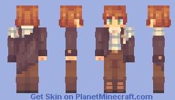 sad cowboy emoji [ oc; nolan ] Minecraft Skin