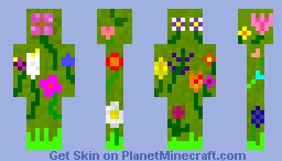 Spring Minecraft Skin