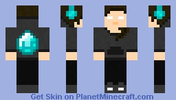 Herobrine's sister Minecraft Skin
