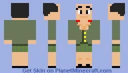 Mao Zedong Minecraft Skin