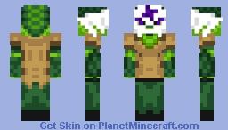 Silverfangs - Floran Skin Minecraft Skin