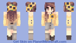 sunflower Minecraft Skin