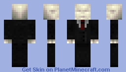 DETAILED Slender/Slenderman Skin Minecraft Skin