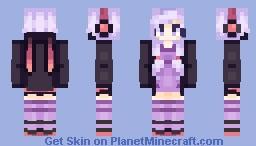 L U N A S O A L - Yuzuki Yukari Minecraft Skin