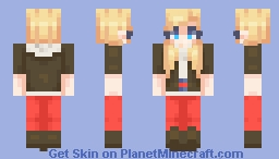 Ann Takamaki - Persona 5 (7+ alt outfits in desc!)) Minecraft Skin